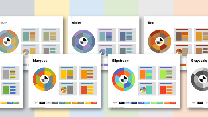 23 color themes ready to use in powerpoint 2013 presentitude example of powerpoint color themes toneelgroepblik Choice Image