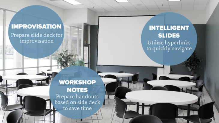 Tips for making slides for workshop presentations
