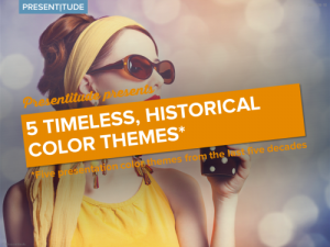 5 timeless, historical color themes for your presentation