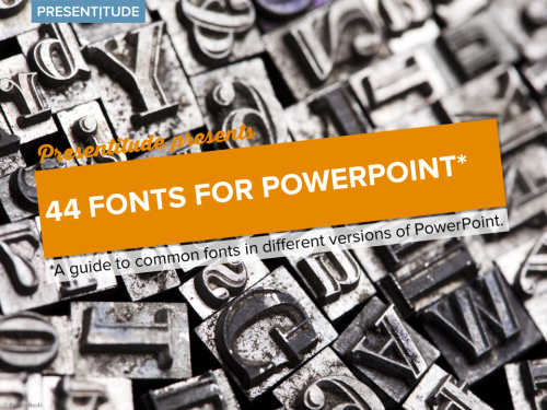 44 safe PowerPoint fonts