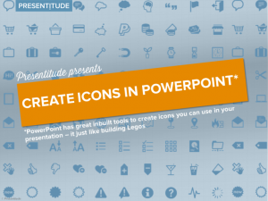 How to use PowerPoint to create icons