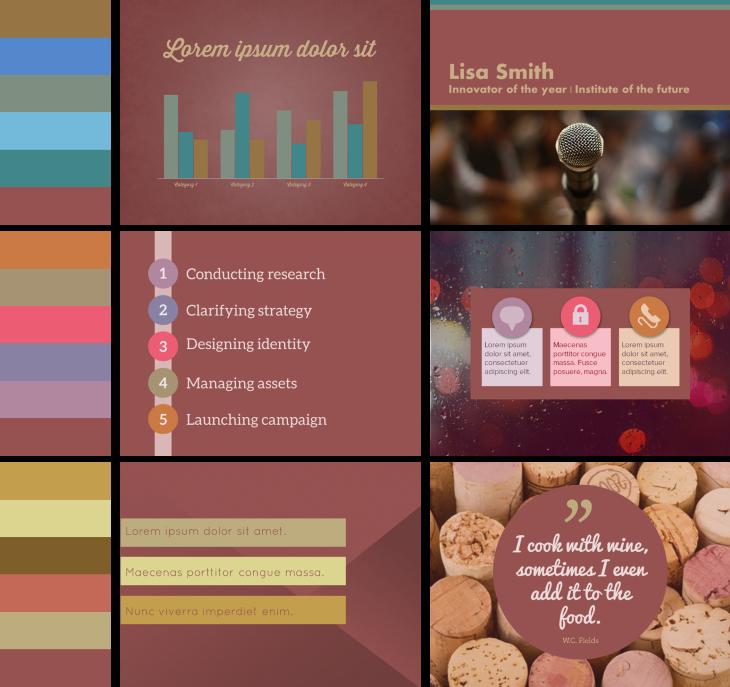 Marsala Color Schemes