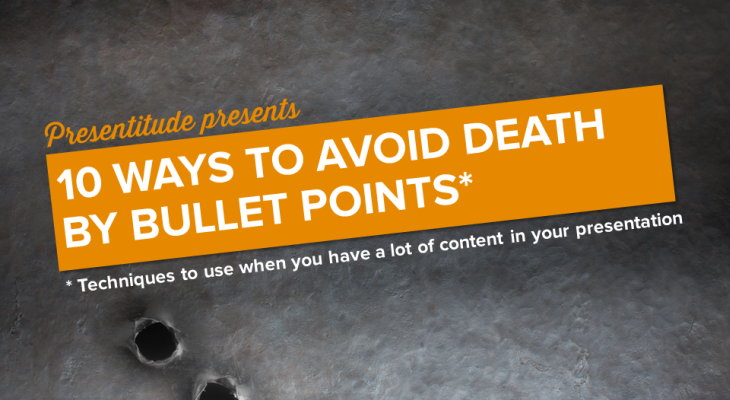 10 ways to avoid death by bullet points