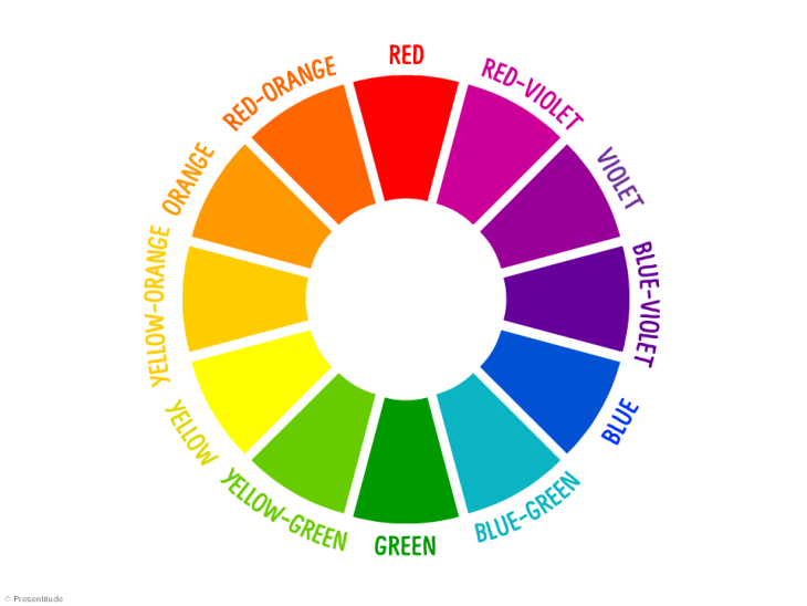 Color Wheel for Presenters