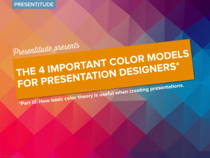 How to create color themes for PowerPoint presentations