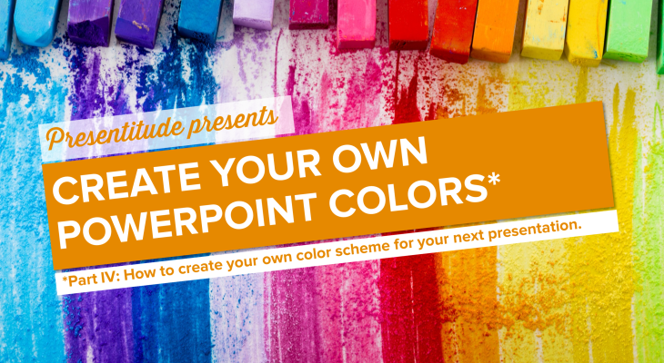 How to create color themes for PowerPoint presentations (Part IV)