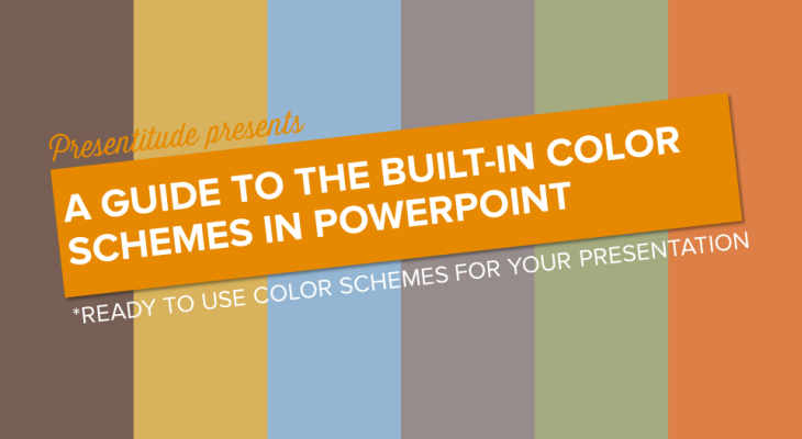 How to get access to all the built-in color themes in PowerPoint