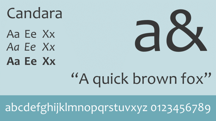 candara_font_for_powerpoint